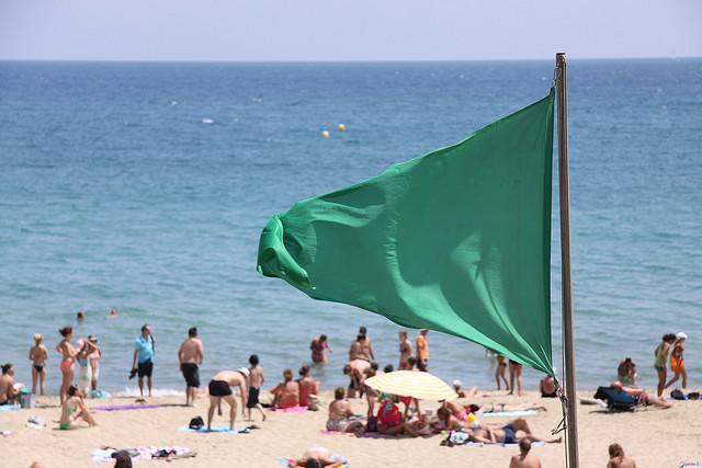 Verano 2017 Sabs que significan los colores de las banderas en las playas brasileas  La Voz de Misiones