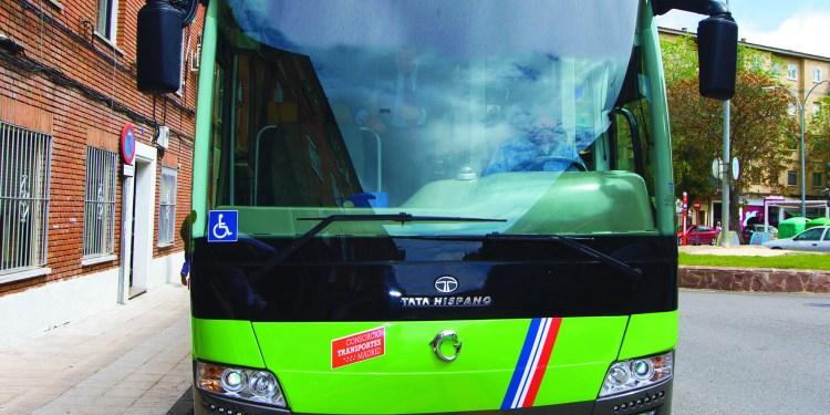 huelga de autobuses