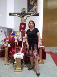 Angelines Claramunt Candidata a Hermana Mayor Hermandad Cristo del Calvario