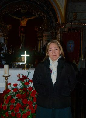 Angelines Claramunt Cristo del Calvario