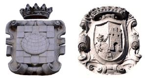 Escudos de las villas de Pinto y Valdemoro