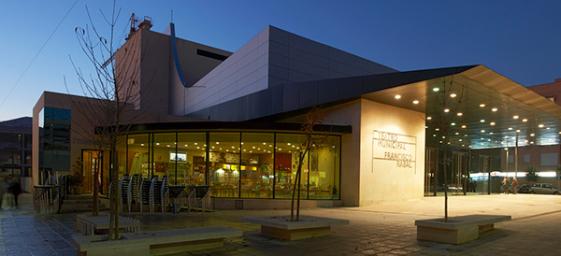 Teatro Municipal Francisco Rabal en Pinto. Imagen archivo.