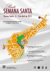 Cartel oficial del Encuentro de Hermandades del Viernes Santo