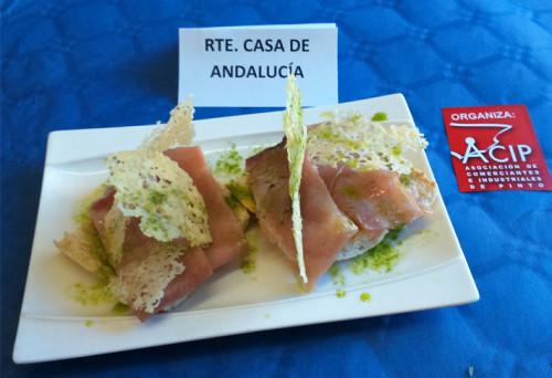Tercer premio de la V Ruta Gastronómica de ACIP. Fotografía: ACIP