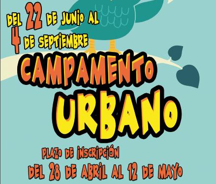 Cartel Campamento Urbano de Verano