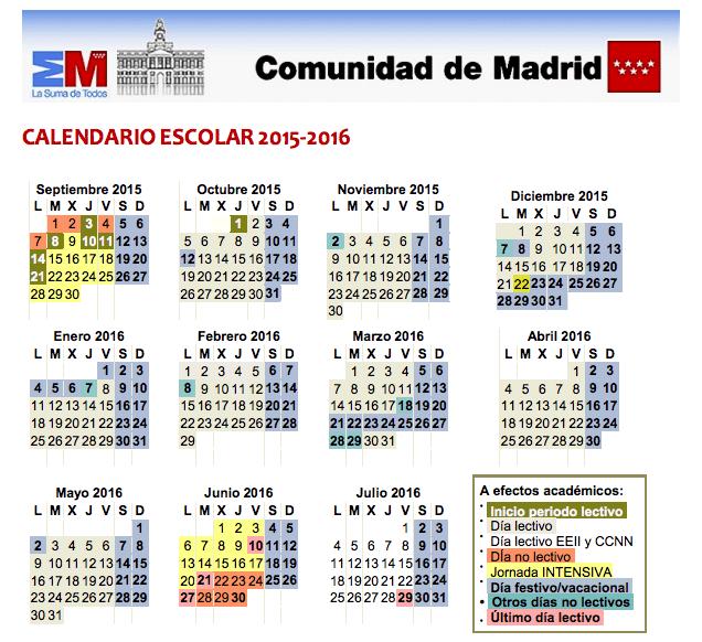 calendario 2015-2016 completo