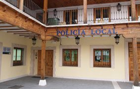 Policía Local de Pinto. herida de bala