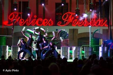 Imagen de las Fiestas del Cristo 2016. Archivo.