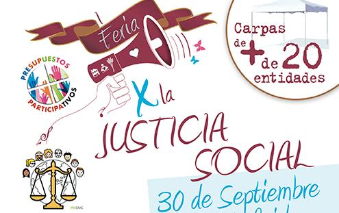 Actividades, juegos, talleres y mucho más en la feria de la justicia social
