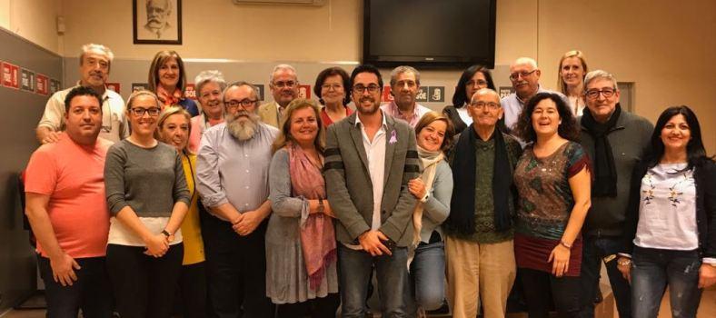 Diego Ortiz nuevo secretario general de PSOE Pinto