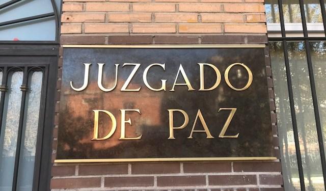juzgado de paz de Pinto