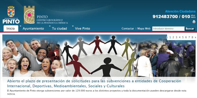 web municipal