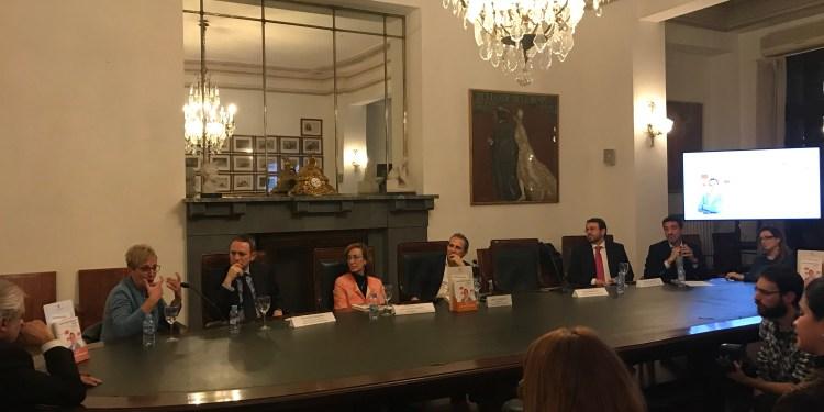 presentación libro de Aritz Urresti en Madrid