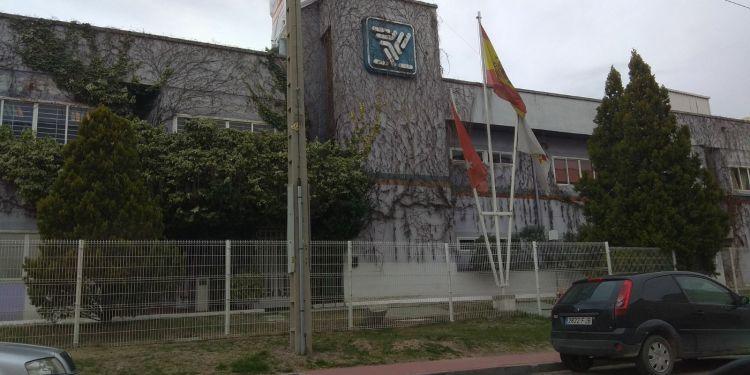 Antiguas oficinas de SEPSA en Pinto. Fotografía: Javier Alcocer