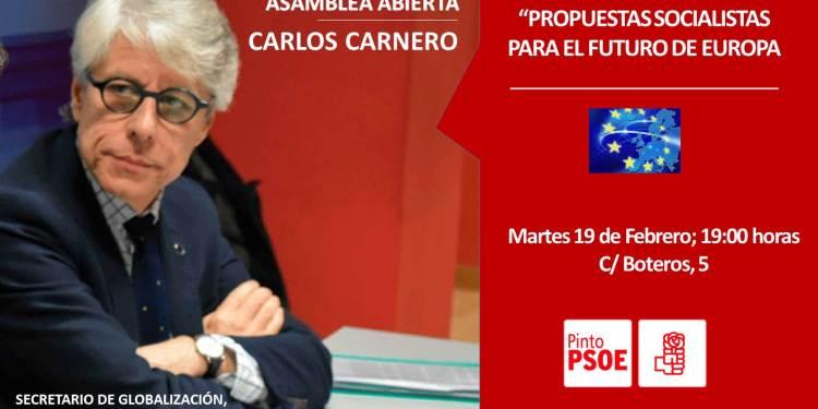 Una asamblea abierta con Carlos Carnero sobre el futuro socialista del país