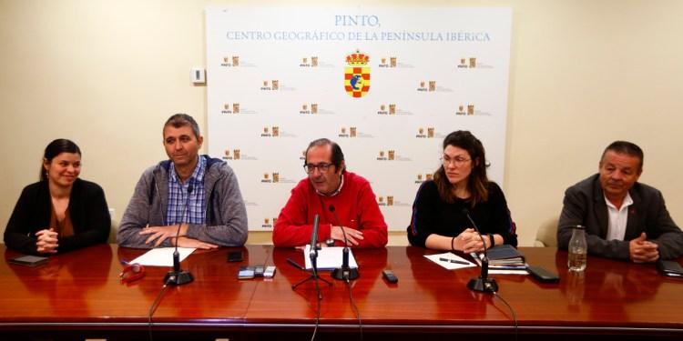 Rueda de prensa por la citación del juzgado a Rafael Sánchez, alcalde de Pinto