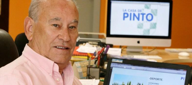 Miguel Jiménez presidente de La casa de Pinto