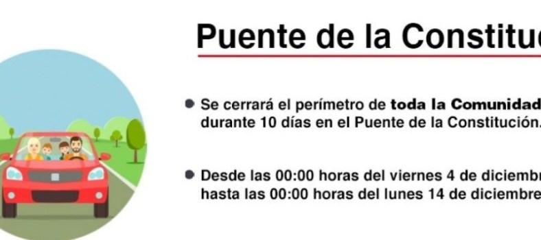 Restricciones Comunidad de Madrid. Imagen CAM