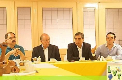 Importante conferencia de PRENSA en dia de ayer en Tantoyuca