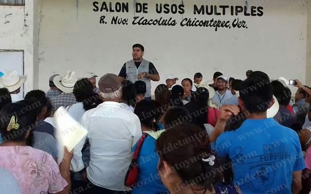En Chicontepec, denuncian entrega de apoyos de parte de SEDESOL a días del inicio del proceso electoral