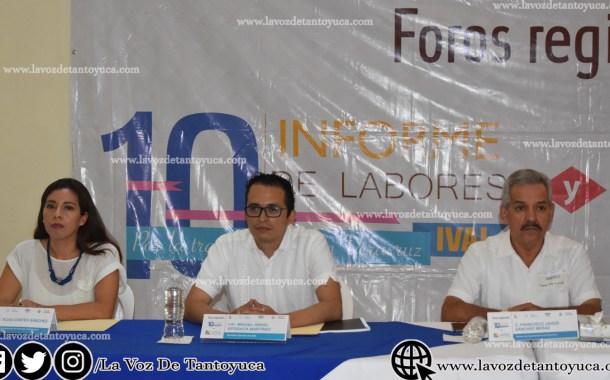 IVAI celebra foro regional en Tantoyuca