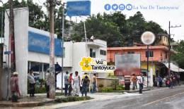 Bloquean carretera municipalizada en Tantoyuca. Agencia LVDT.