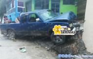 Empresario provoca accidente al quedarse sin frenos en Tantoyuca