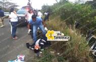 Vuelca patrulla del IPAX; 5 lesionados