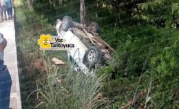 Vuelca ex dirigente municipal del PRI en Tantoyuca   LVDT