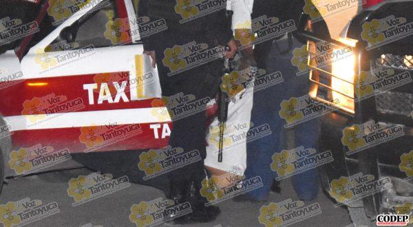 Agentes ministeriales realizaron el levantamiento del cuerpo y lo trasladaron al SEMEFO Local | LVDT