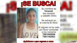 Desaparece adolescente en Tantoyuca | Redes Sociales