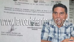 Director de educación indígena quiere imponer sus reglas   LVDT