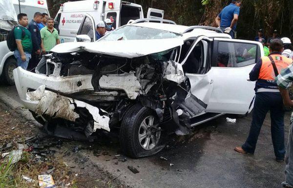 Muere maestra en fatídico accidente en la Naranjos – San Sebastián | Redes Sociales