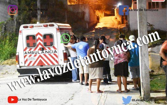 Se mata al caer a un barranco en la Colonia Pamesina, en Tantoyuca | LVDT