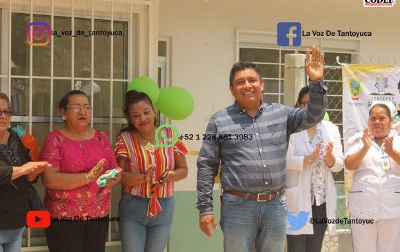 Amplia Gobierno Municipal instalaciones de la Clínica de El Volador, en Ixcatepec   LVDT