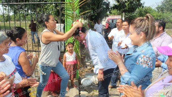 Familias de San Benito beneficiadas con sanitarios con biodigestores, en Chicontepec | LVDT