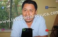 Delegado de gobierno cobra su sueldo de maestro sin trabajar, en Tantoyuca