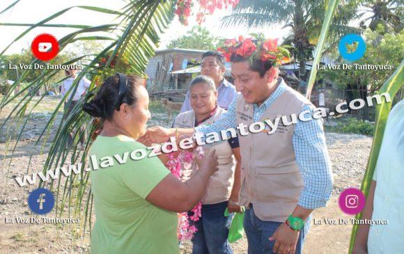 Inician obras de beneficio social en El Sitio, Lomas de Temoctla, Palma Sola y El Chote La Antigua, en Chicontepec | LVDT