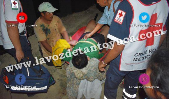 Vídeo: Amarran a ebrio sujeto en Tantoyuca | LVDT
