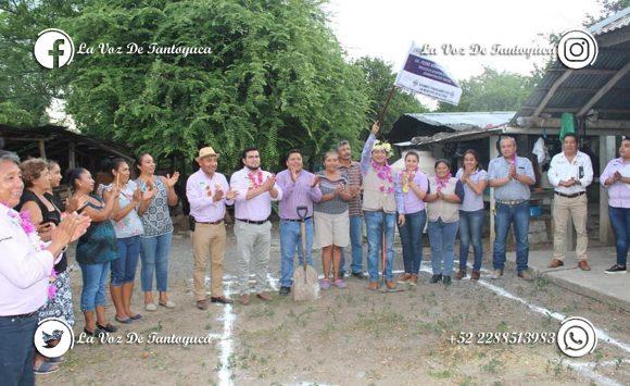 Inician obras de beneficio social en Achupil, Los Ángeles, Ahuatitla Arriba y Terrerillos, en Chicontepec  |  LVDT