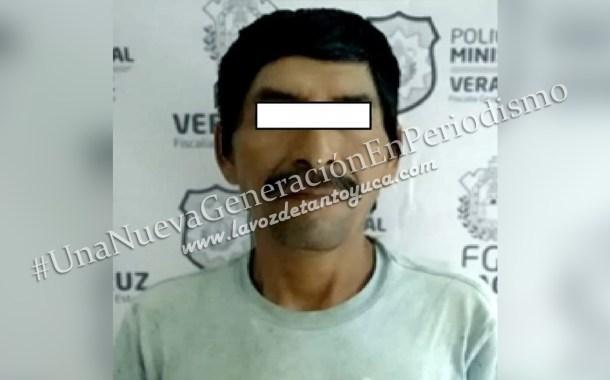 En operativo táctico detienen en Huejutla a sujeto que macheteó a dos en Tuxpan