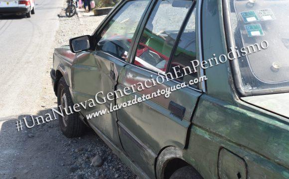Taxista ocasiona aparatoso percance vial, sobre la municipalizada   LVDT