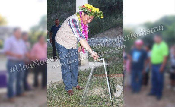 Alcalde inaugura la ampliación del sistema de agua potable en Chamola | LVDT