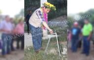 Alcalde inaugura la ampliación del sistema de agua potable en Chamola