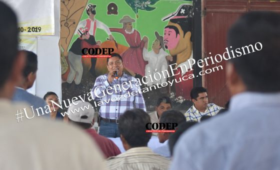 Encabeza David Guzmán reunión de trabajo con subagentes y Comités de Obras | LVDT
