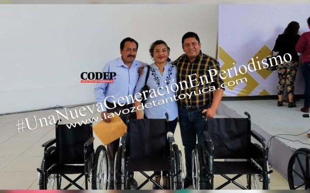 Gestiona DIF Municipal de Ixcatepec aparatos funcionales