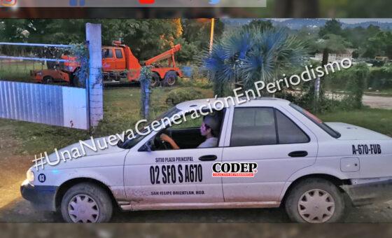 Asegura Transporte Público 4 taxis por invasión de rutas | LVDT