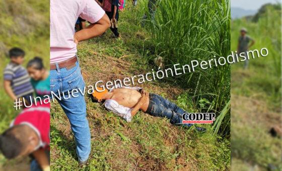 Volcadura deja una persona muerta y tres personas lesionadas   LVDT