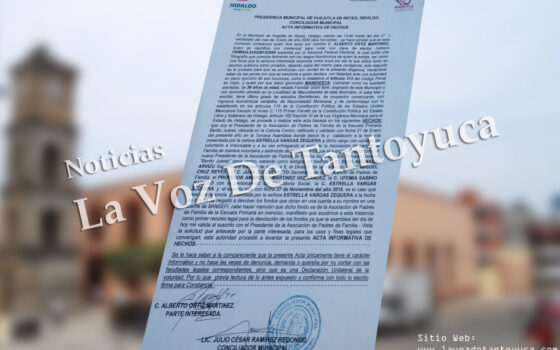 Acusan a ex presidenta de padres de familia de quedarse con las cuotas | LVDT