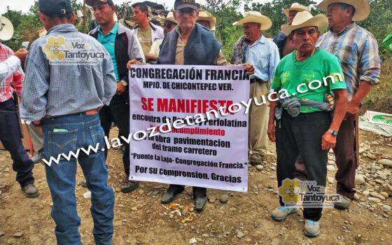 Incumple PEMEX compromisos en Chicontepec; habitantes de manifiestan | LVDT
